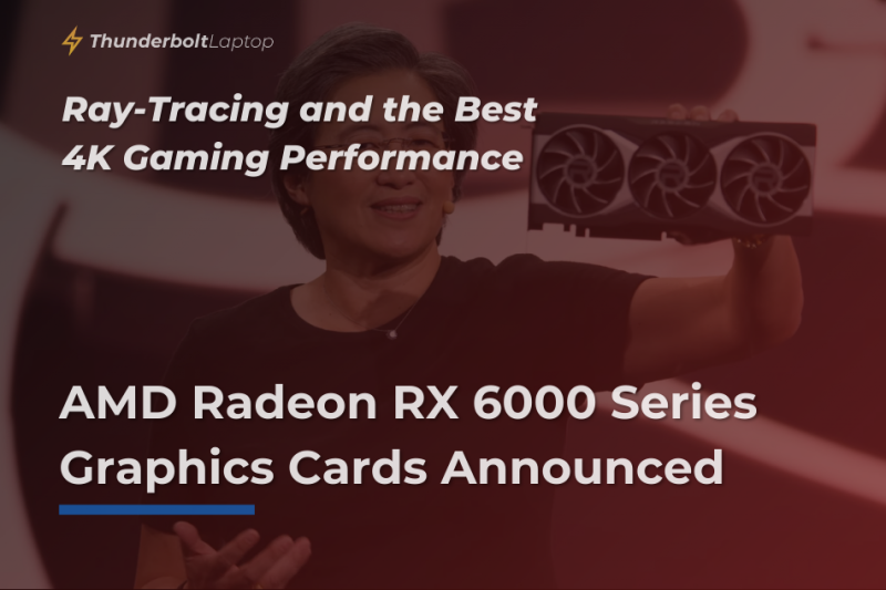 AMD Radeon RX 6000 Series Graphics Cards Announced