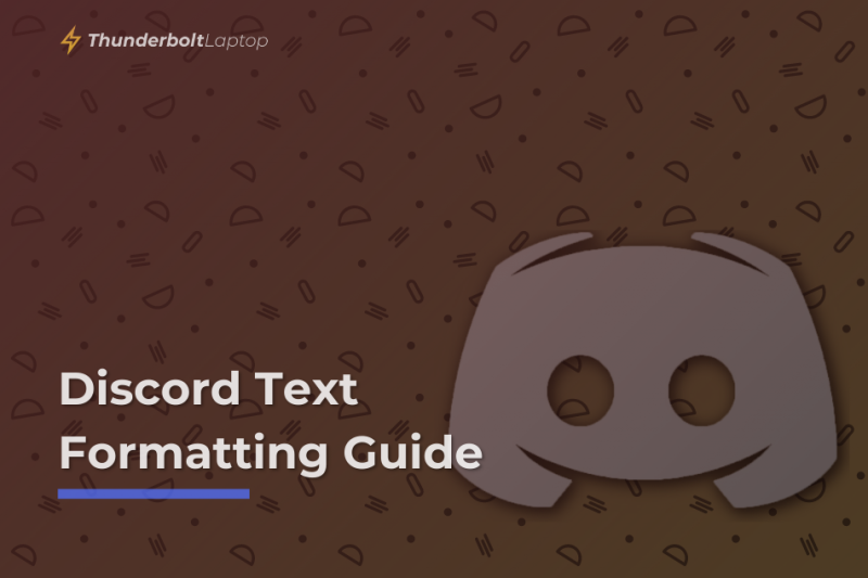 Discord Text Formatting Guide