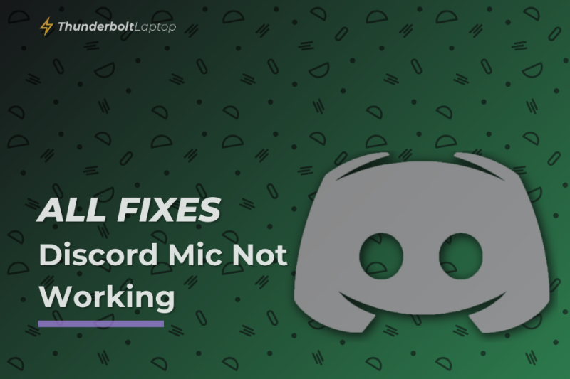 [All Fixes] Discord Mic Not Working