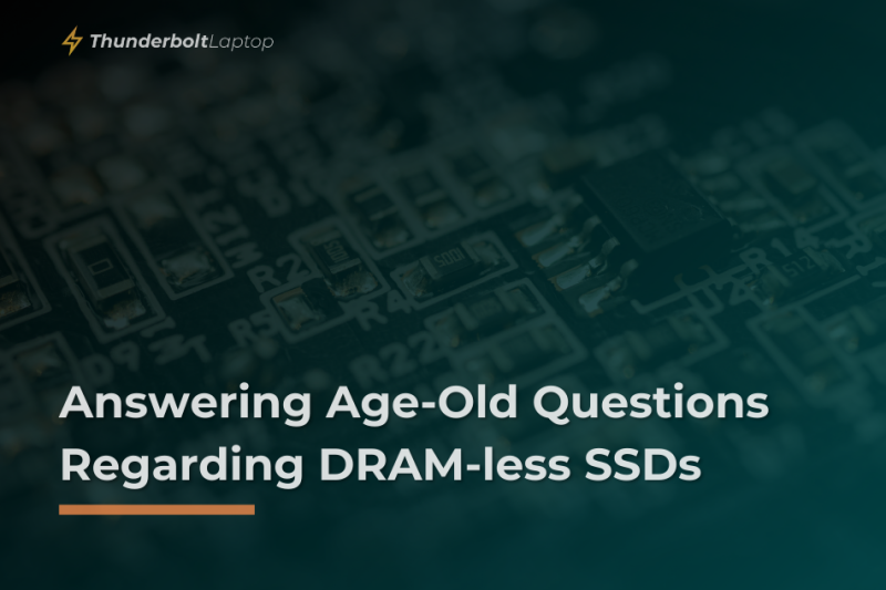 Answering Age-Old Questions Regarding DRAM-less SSDs