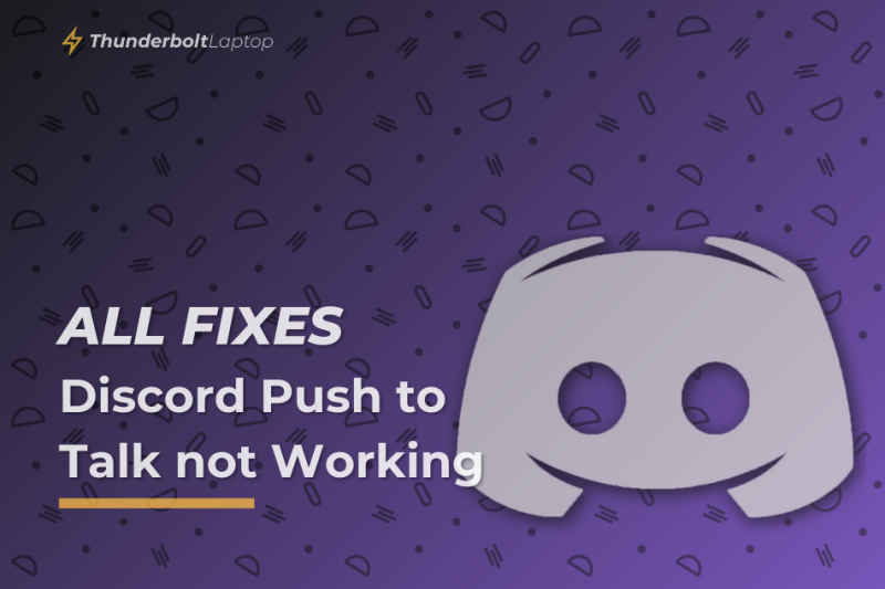 [All Fixes] Discord Push to Talk not Working