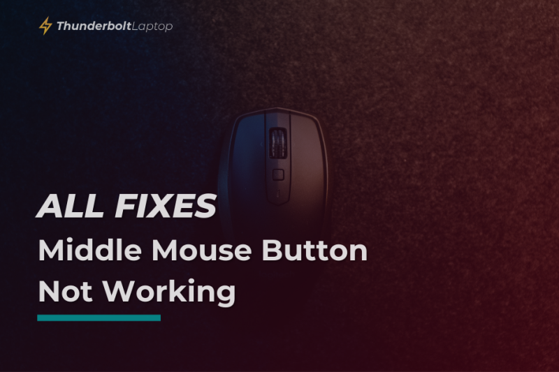 [All Fixes] Middle Mouse Button Not Working