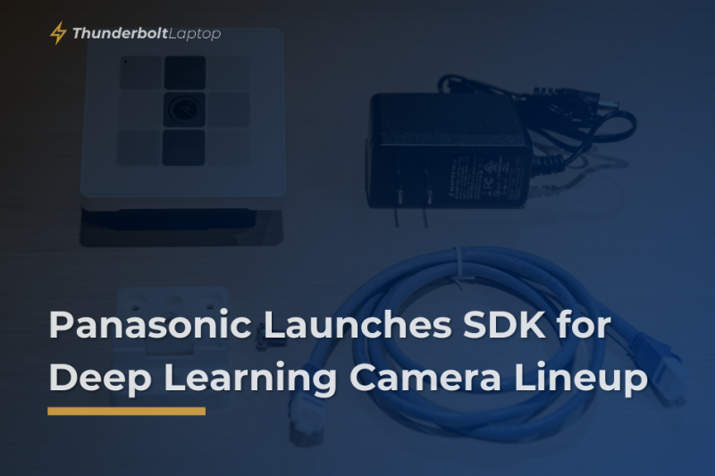 Panasonic Launches SDK for Deep Learning Camera Lineup